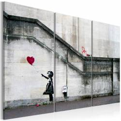 Obraz  Girl With a Balloon by Banksy