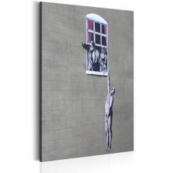 Obraz  Well Hung Lover by Banksy