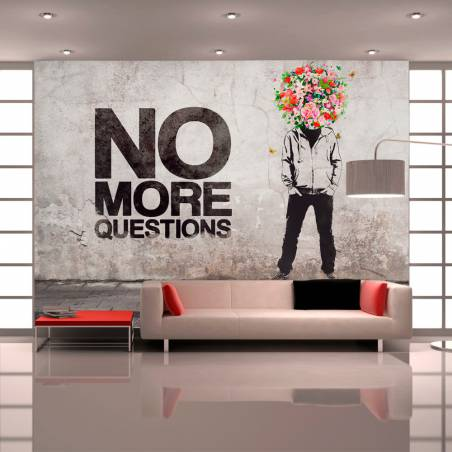 Fototapeta  No more questions