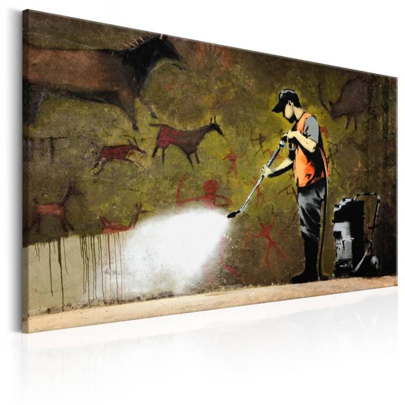 Obraz  Cave Painting by Banksy