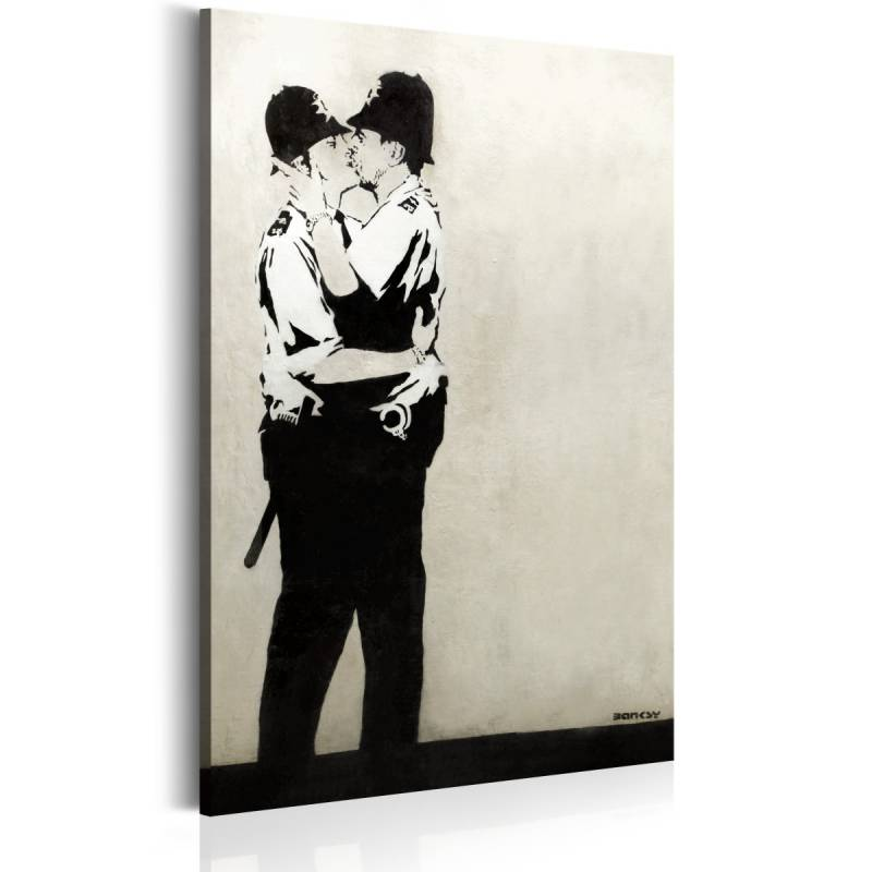 Obraz  Kissing Coppers by Banksy