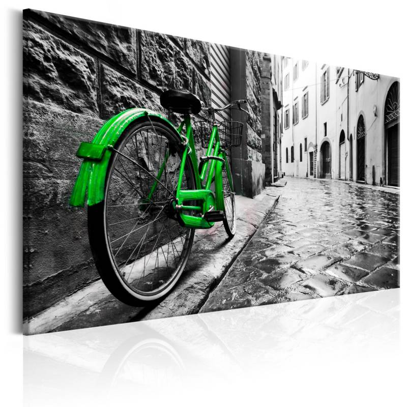 Obraz  Vintage Green Bike