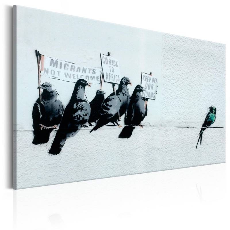 Obraz  Protesting Birds by Banksy